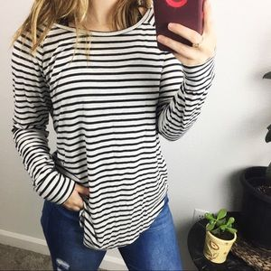 American Eagle Outfitters Tops - AEO striped long sleeve